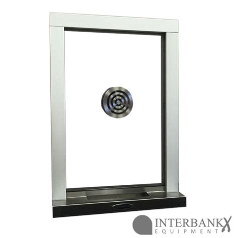 ti  bullet resistant transaction window  aluminum