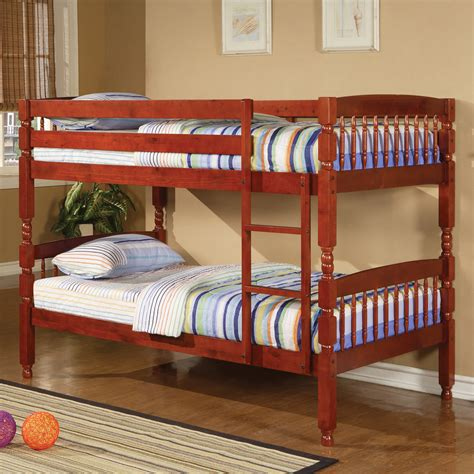 coaster furniture bunk bed coaster fine furniture 46022 twin over twin bunk bed atg stores