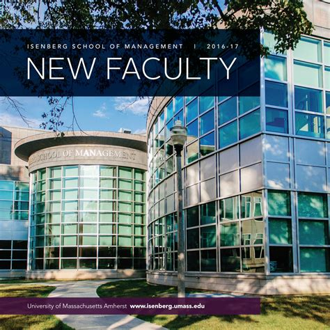 Umass Amherst Isenberg Mba by New Faculty 2016 2017 By Isenberg School Of Management Issuu