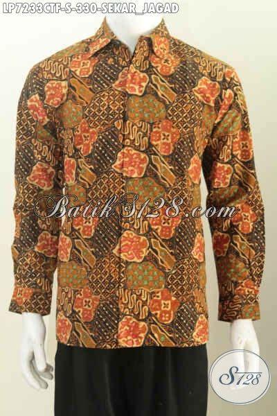 Paling Murah Baju Kemeja Batik Tribal Coklat Cowok Pria Distributor tips memilih baju batik pria slim fit baju batik 2018