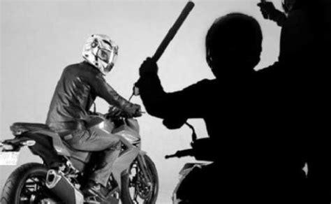 Lu Sorot Sepeda Motor perasan sepeda motor disertai kekerasan di indramayu