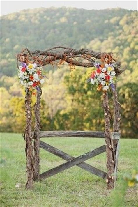 how to make a rustic wedding arch rustic arch