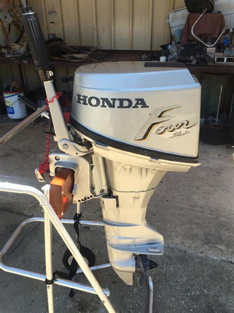hp honda  stroke outboard boat motor