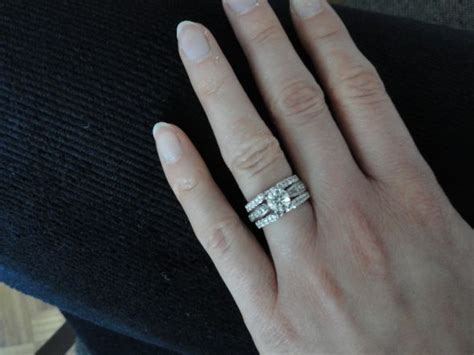 contour rings wedding promise