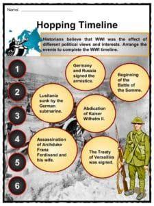 world war  ww facts worksheets information  kids