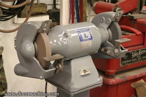 sioux bench grinder the machine shop