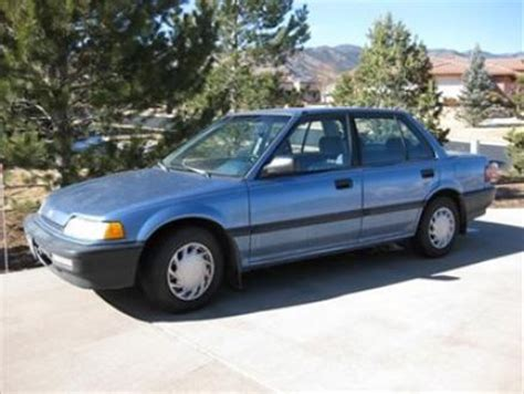 light blue honda civic condition light blue 1991 honda civic dx in colorado