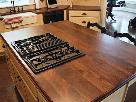 wood tops for kitchen islands walnut custom wood countertops butcher block