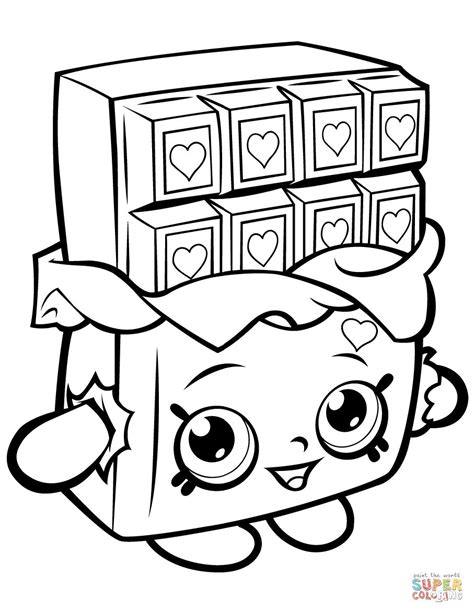 shopkins coloring pages lippy lips shopkins lippy lips coloring page thekindproject