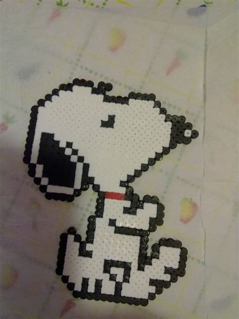 snoopy hama 17 best images about snoopy on stitching