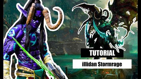 libro world of warcraft illidan d i y como fazer o cosplay do illidan stormrage world of