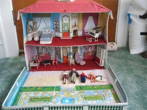 princess dolls house 1960s ideal petite princess doll house with family and furniture just like i had