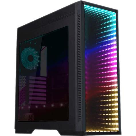 gabinete gamemax gabinete gamer gamemax infinit m908 ggm rgb black mid