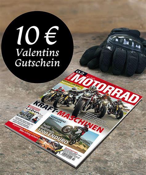 Online Motorrad Zeitschrift by Zeitschrift Motorrad Halbjahres Geschenkabo Jetzt