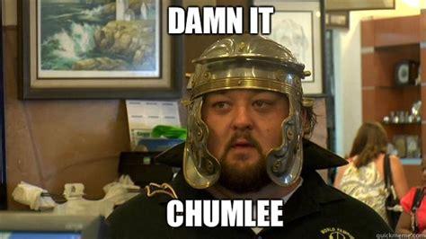 Chumlee Meme - pawn stars tired of chumlee memes quickmeme