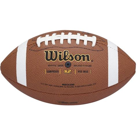 wilson k2 composite wee football sports advantage
