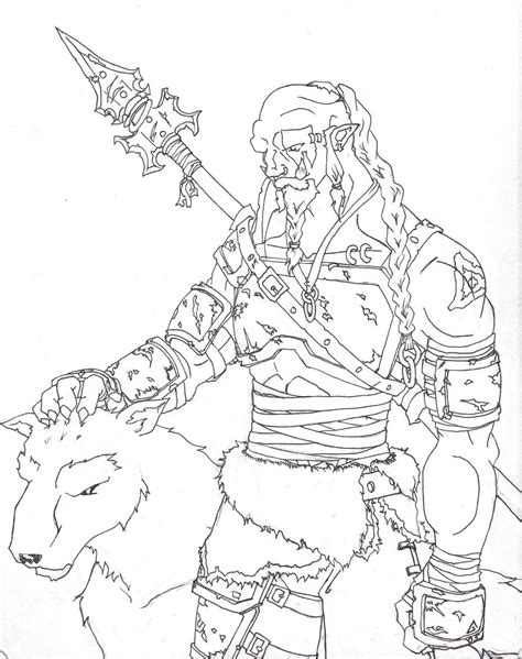 coloring pages of world of warcraft world of warcraft orc coloring pages
