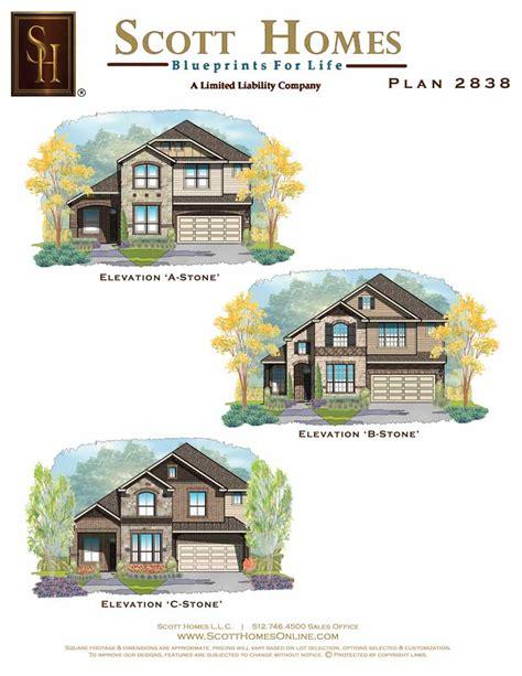 scott homes plan 2185 scott homes plan 2838