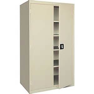 Large Cabinets For Storage Sandusky Large Capacity Storage Cabinet 78 Quot H X 36 Quot W X 24