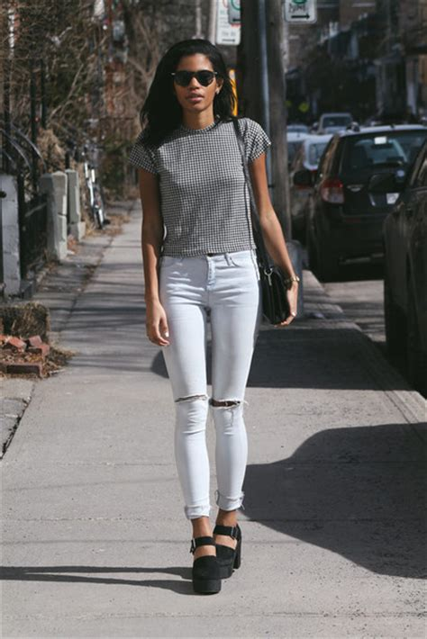 Buy Kitchen Furniture top babes in velvet blogger jeans chunky heels skinny