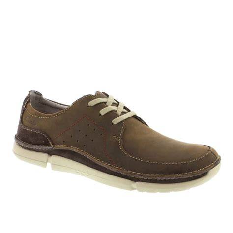 clarks trikeyon fly s casual shoes in navy and brown