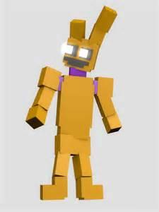Artwork 8 bit purple guy in springtrap model i gyazo com