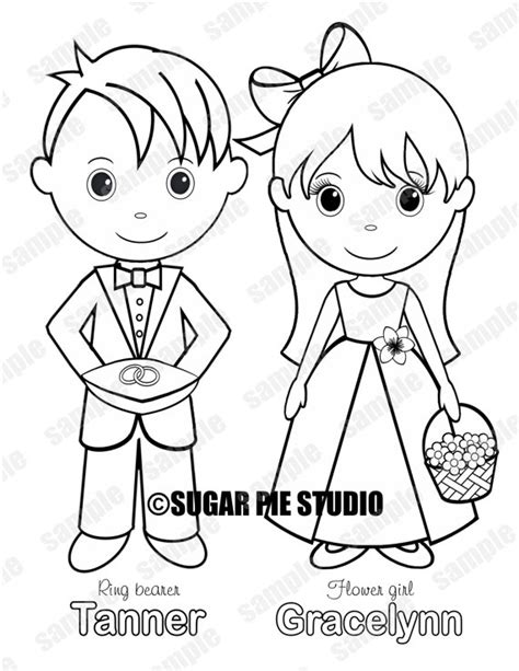 coloring pages flower girl flower girl coloring page www pixshark com images