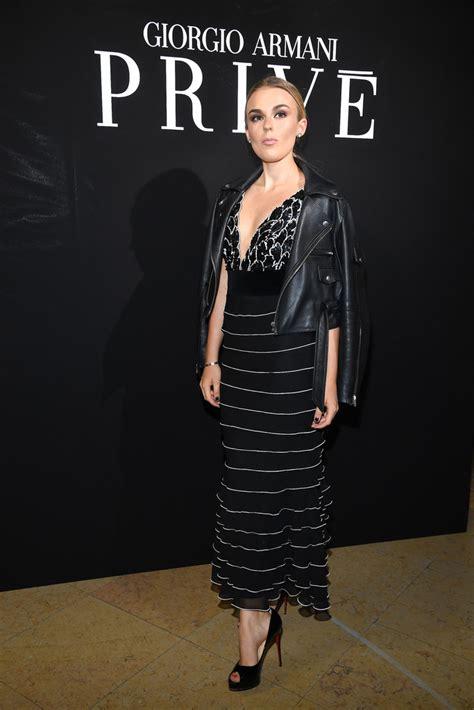 Armani Priv Haute Couture 2008 Front Row by Tallia Photos Photos Giorgio Armani Prive Front