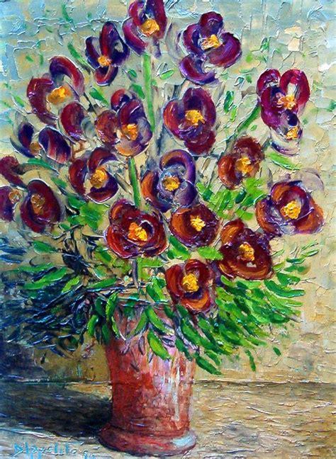fiori quadro quadro d autore recensito n a 148 fiori misure 40x30 cm