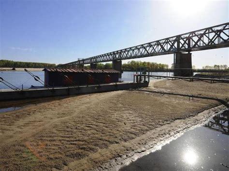 il punto pavia la storica secca grande fiume po a tre metri sotto