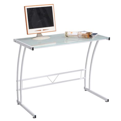 lumisource sigma glass computer desk white ofd tm bitsgl w