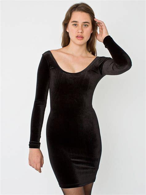 Dress For Withamerican Apparel by Velvet Sleeve Mini Dress American Apparel