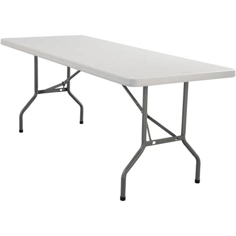 lightweight table lightweight folding table 96 l national seating