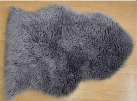 Animal Shaped Rug by White Color Pile Fur Animal Shape Carpet Rug