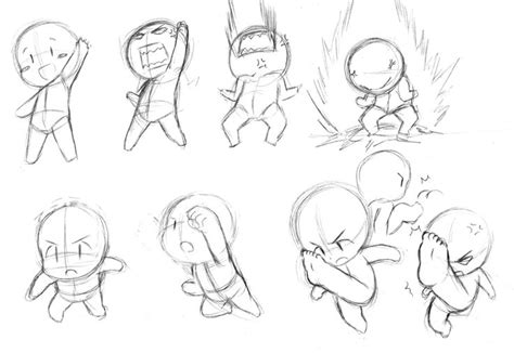 how to draw poses chibi practice 3 by catplus deviantart on deviantart