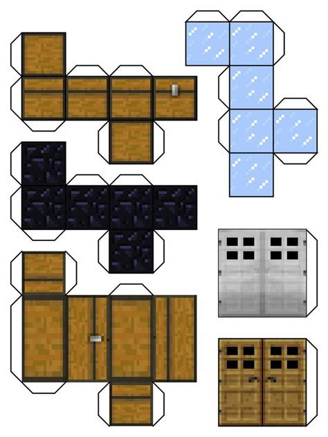 Minecraft Papercraft All Blocks - minecraft papercraft blocks minecraft blocks 6 by