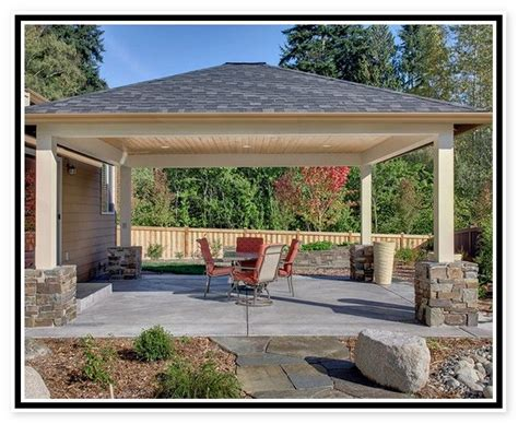 Free Standing Patio Cover by Patio Cover Plans Free Standing Patio Ideas