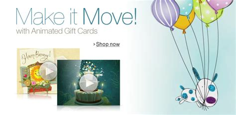 Animated Gift Cards - animated amazon com gift cards
