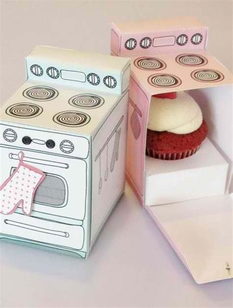 How To Make A Paper Oven - diy paper cupcake oven diy