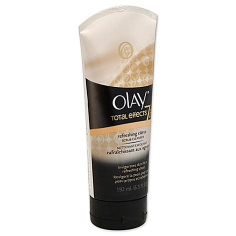 Bedak Olay Total Effect olay 174 6 5 oz total effects citrus scrub cleanser