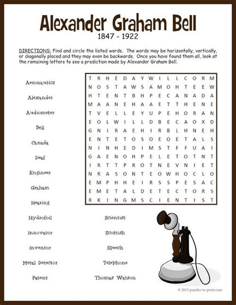 searching for the draft of history lessons about the war of 1812 in stacks of graham bell word search puzzle the words words and kid