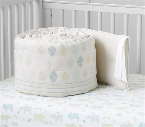 Hippo Crib Bedding Organic Hippo Nursery Bedding Pottery Barn