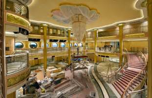 Big Crystal Chandelier Disney Fantasy Photos Show Improvements From The Dream