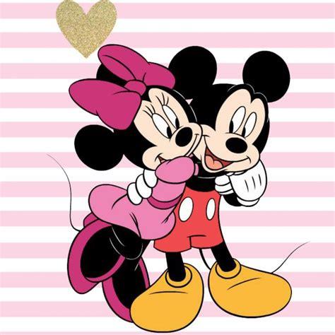 Mickey Minie minnie giving a hug to sweetheart mickey my