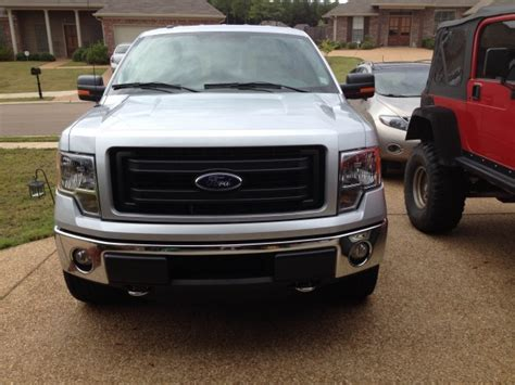 looking for grille pics ptm chrome bumper ford f150 forum community of ford truck fans