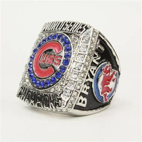 cubs rings new chicago cubs championship ring baseball world series