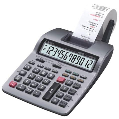 Casio Hr 100 Tm Kalkulator Print casio desktop printing calculator hr 100tm printing