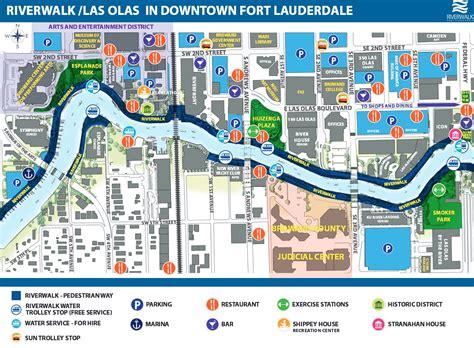 riverwalk map riverwalk fort lauderdale information events advocacy