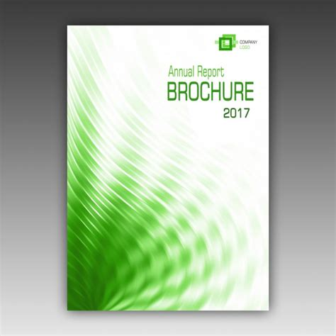 brochure template psd free green brochure template psd file free