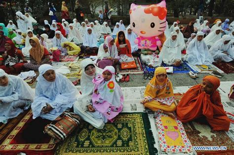 indonesia islam as indonesian muslims celebrate the end